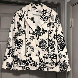 Gorgeous Black/White Jacket. 16